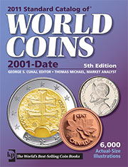 2011 Standard Catalog Of World Coins 2001-Date, 5th Edition