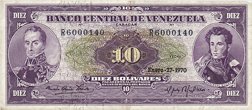 Banknote with low serial number level 3