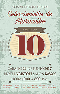 10th Convention of Collectors of Maracaibo