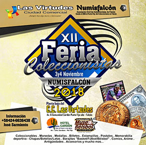 12th Collectors Fair Numisfalcón