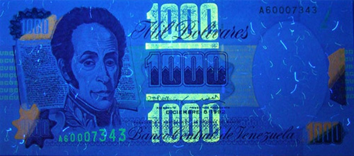 Piece bbcv1000bs-ab02-a8 (Obverse, under ultraviolet light)