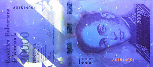 Piece bbcv20000bsf-aa01-a8 (Obverse, under ultraviolet light)