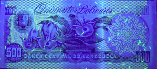 Piece bbcv500bs-ea04-a8 (Reverse, under ultraviolet light)