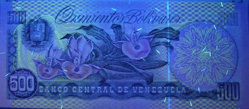 Piece bbcv500bs-eb01-n8 (Reverse, under ultraviolet light)