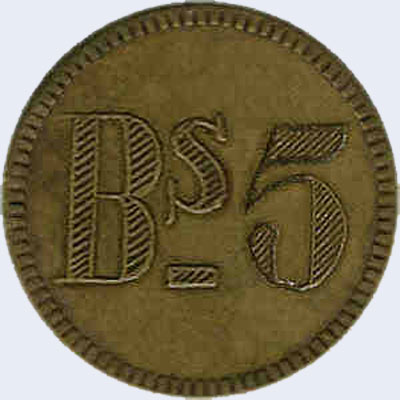 Piece ml5bs-aa01 (Obverse)