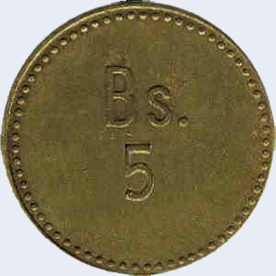 Piece ml5bs-ca01 (Obverse)
