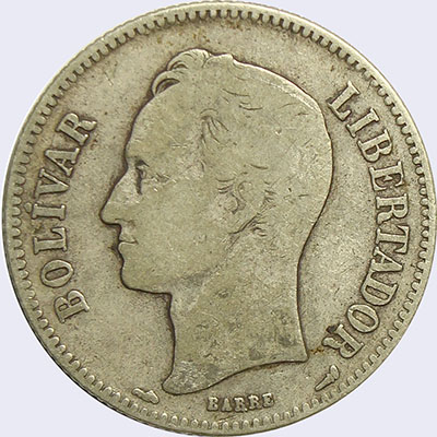 Piece mv2bs-aa13v2 (Obverse)