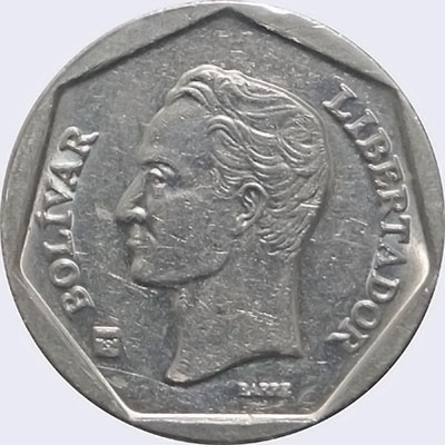 Piece mv50bs-db01 (Obverse)